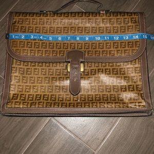 a358157edae8 Fendi vintage briefcase